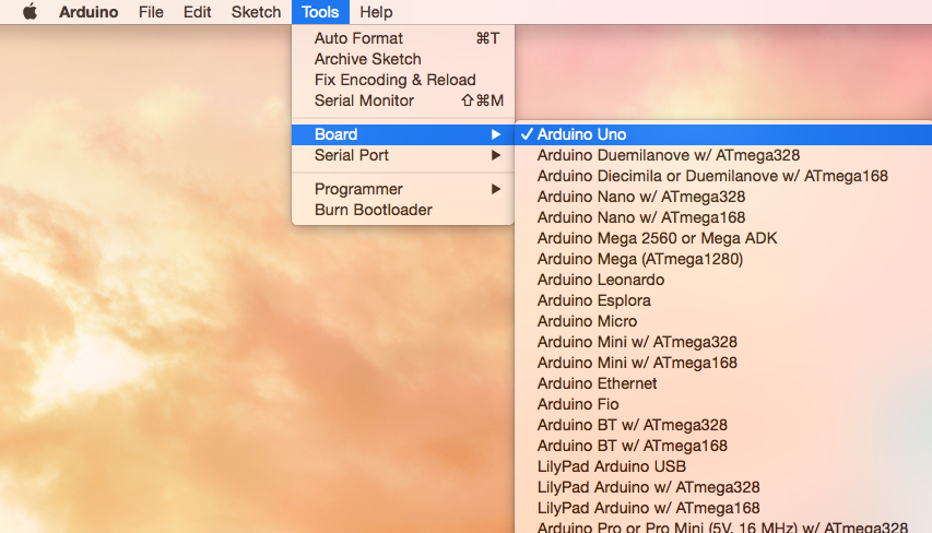 Upload programs to an Arduino with your Mac in 4 steps — Mac USB