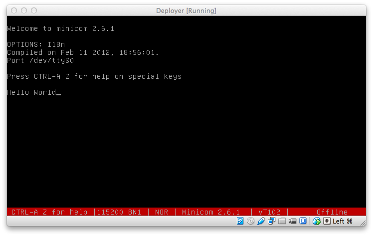 Serial Port Access in VirtualBox Machines running on Mac OS X — Mac